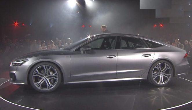 Новый Audi A7 Sportback  2018 : все подробности и фото