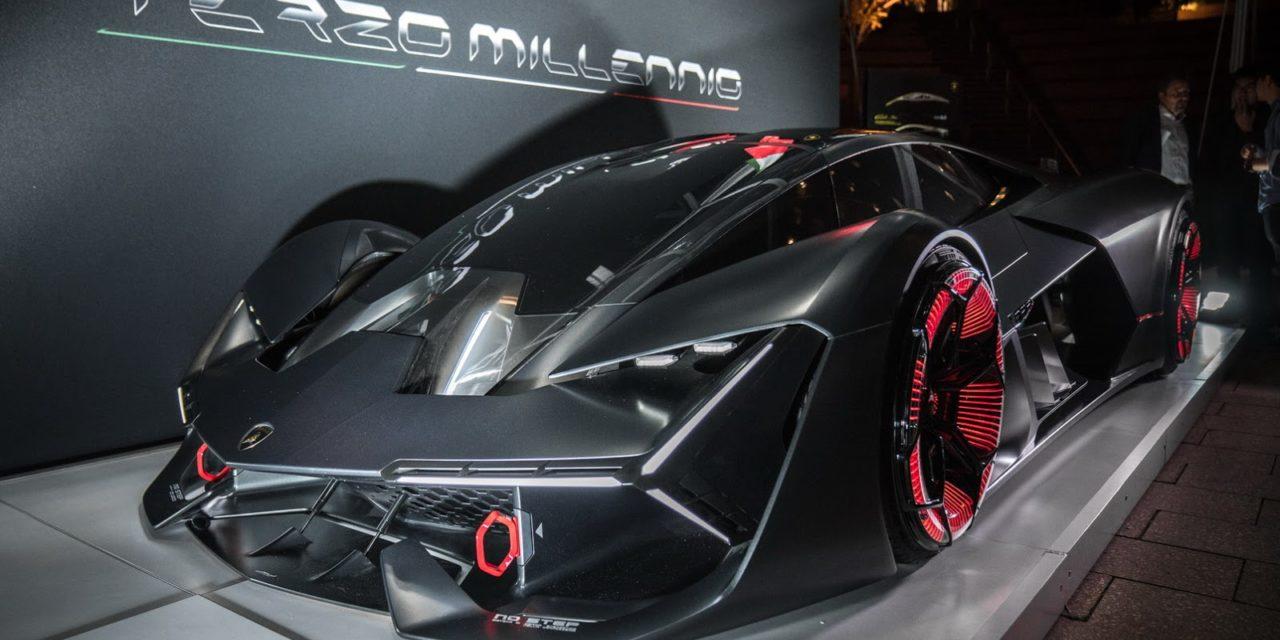 Фантастический электромобиль Lamborghini