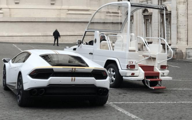 Папа Римский решил избавиться от Lamborghini