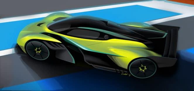 Экстрим-версия Aston Martin от команды Red Bull