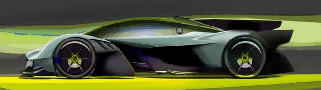 Рисунок Aston Martin Valkyrie