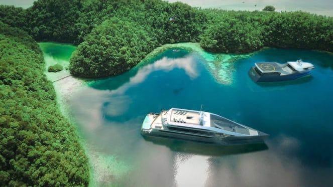 Яхта от Rolls-Royce