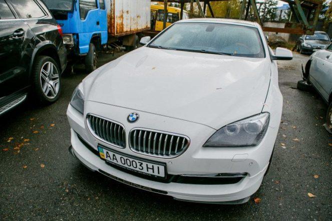 Автомобиль BMW на аукционе
