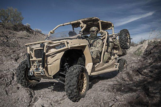 Американская морская пехота протестировала новые автомобили Polaris