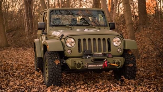 Немцы превратили Jeep Wrangler в военный внедорожник