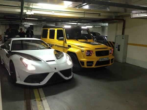Киевский мажор удивляет своим гаражом