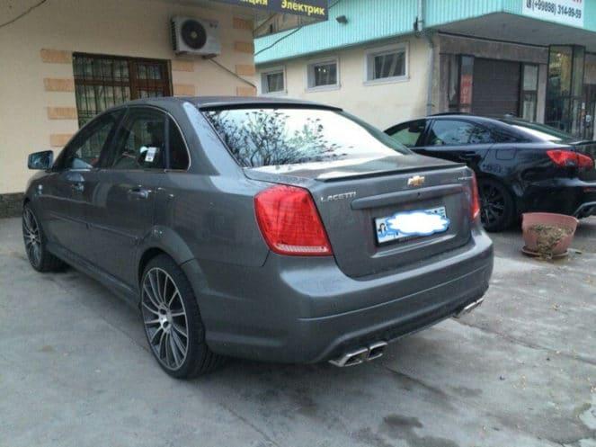 Тюнинг по узбекски: как превратить Chevrolet Lacetti в BMW