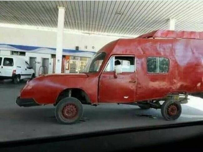 Самые необычные автомобили, когда-либо замеченные на дорогах