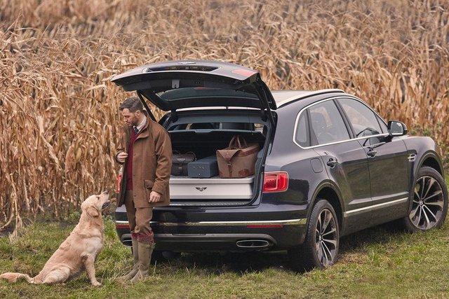 Bentley выпустила кроссовер для охоты