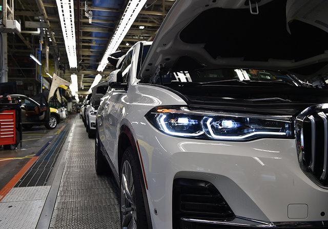 BMW X7 новый