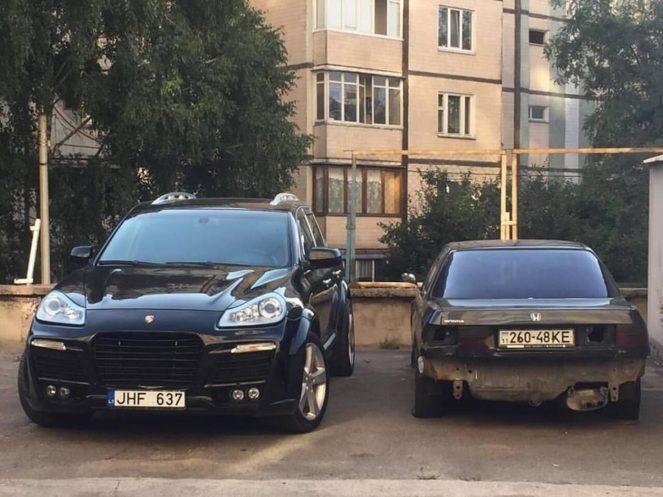 Самые шикарные авто на евробляхах в Украине