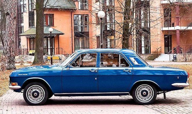 Уникальная Волга из 70-х