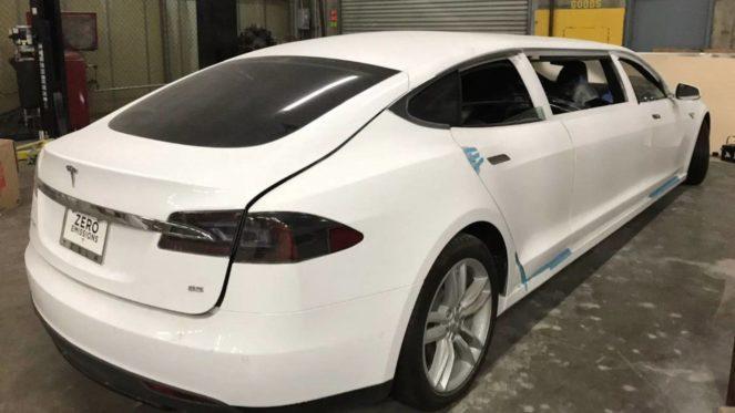 лимузин Tesla