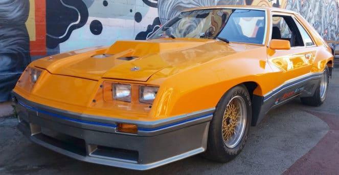 Старый Mustang в тюнинге от McLaren