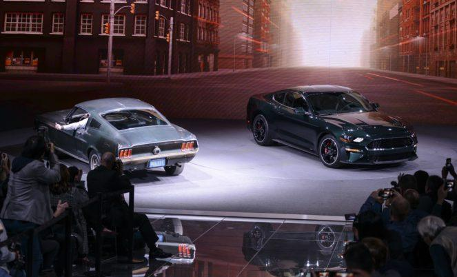 Новая версия Форд Мустанг появилась в честь культового кинофильма