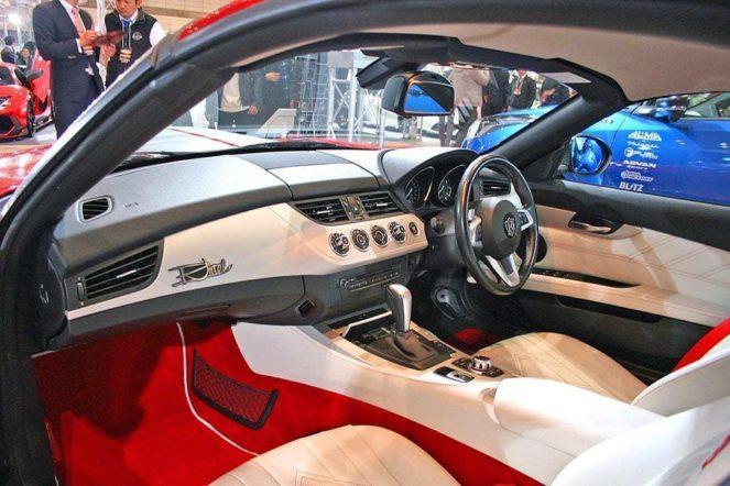 BMWZ4 тюнинг салон
