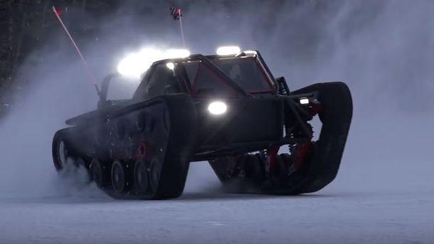 Автомобиль-монстр для нашей зимы