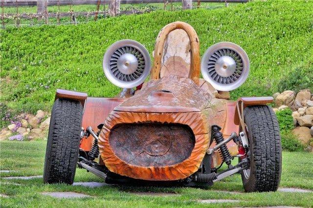 Деревянное авто
