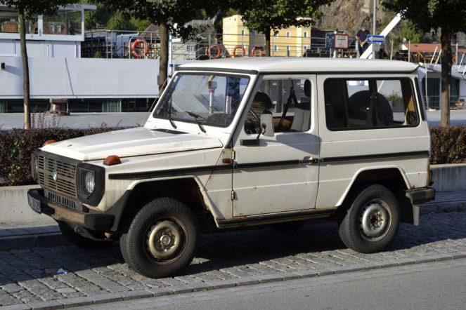 Gelendewagen first