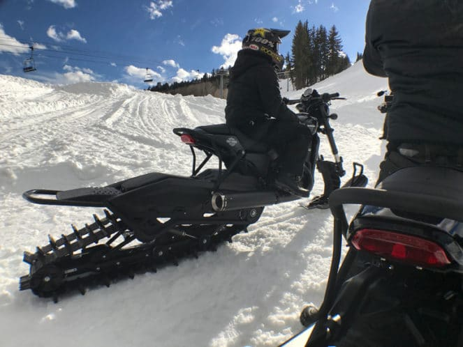 Harley Davidson выпустил мотоцикл для зимы