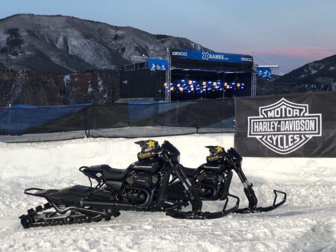 Harley-Davidson winter