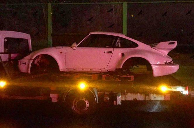 В Украину попал необычный Porsche