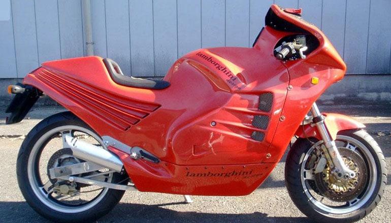 Мотоцикл из прошлого Lamborghini
