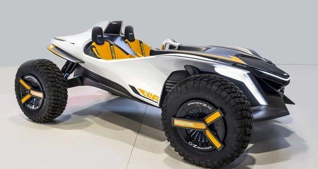 Гоночный электрокар-гидроцикл от Hyundai