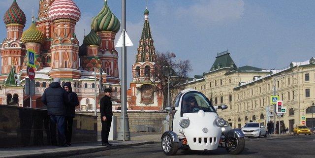 Рассекречен трехколесный электрокар российского производства