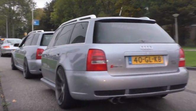Оригинальный прицеп для Audi RS4