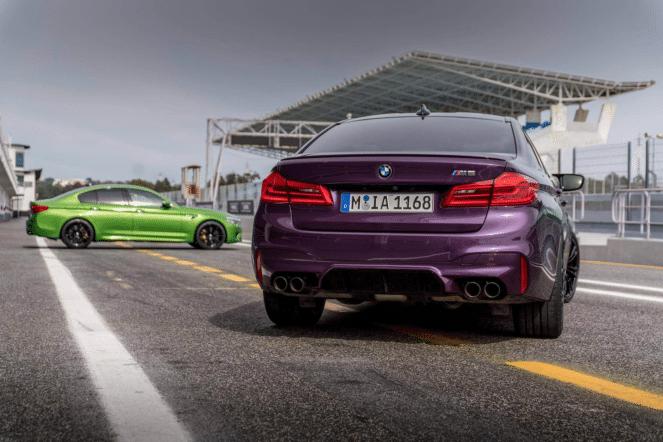 BMW M5: ярче некуда