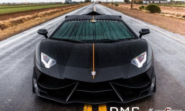О да, это новый Lamborghini Aventador
