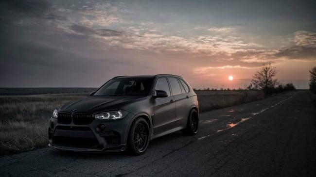 Агрессивный тюнинг BMW X5