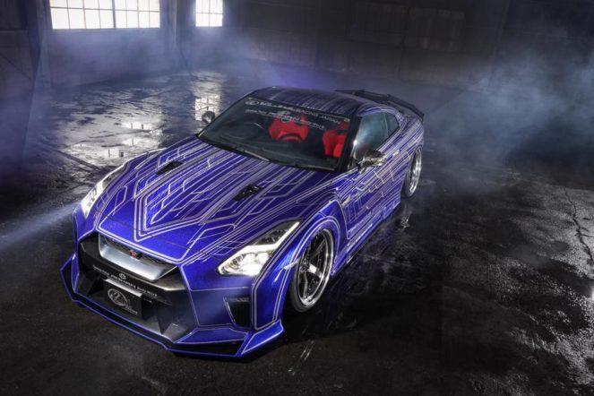 Ребята затюнинговали Nissan GT-R