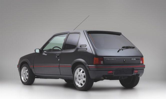 Купе Peugeot 205
