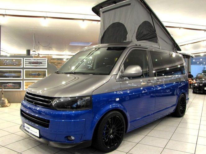 Volkswagen SpaceCamper TH5 превратили в дом на колёсах
