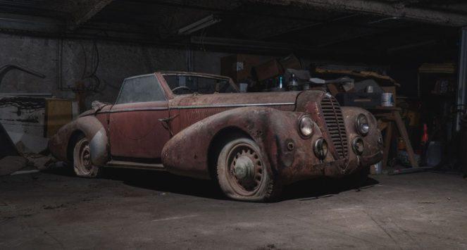 Ретро-авто, забытые в Манхэттене на 40 лет