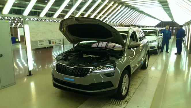 Производство нового Skoda Karoq запустили в Украине
