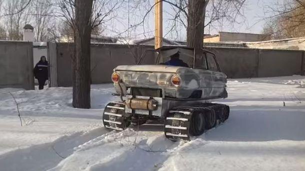 Запорожец танк