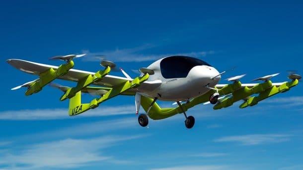 Соучредитель Google испытал летающий автомобиль Cora