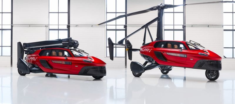 Первое серийное летающее авто
