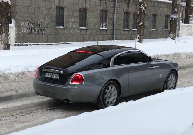 Новое купе Rolls-Royce появилось в Украине