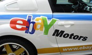 Машина с ebay