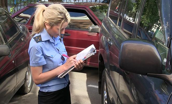Продажа арестованного авто