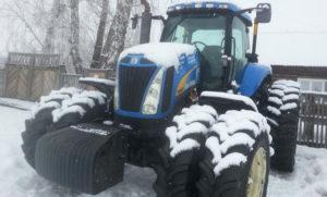 Трактор Нью Холланд Т8040