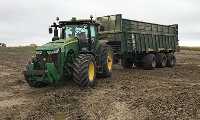 Трактор Джон Дир 8320