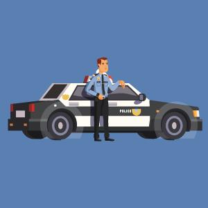 Поиск преступника