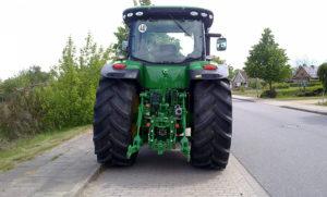 Ходовая часть трактора
