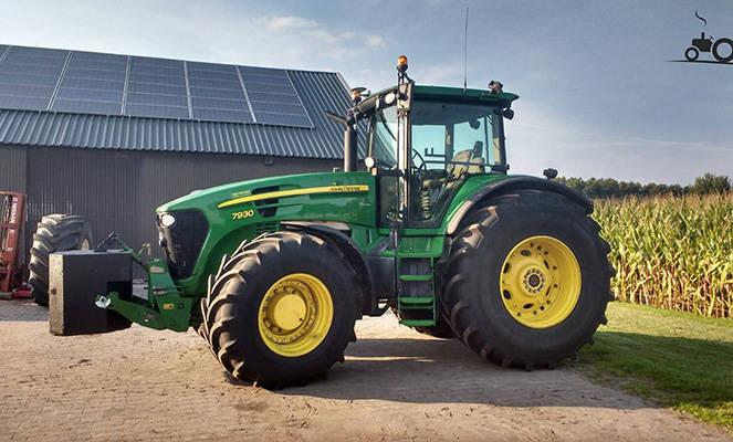 Трактор Джон Дир 7930