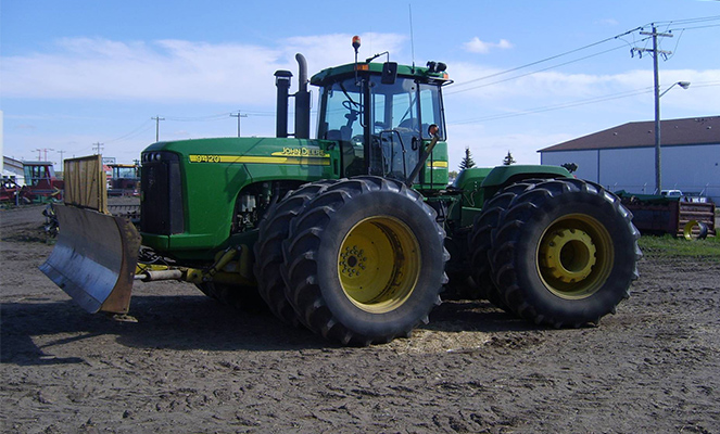 Трактор Джон Дир 9420